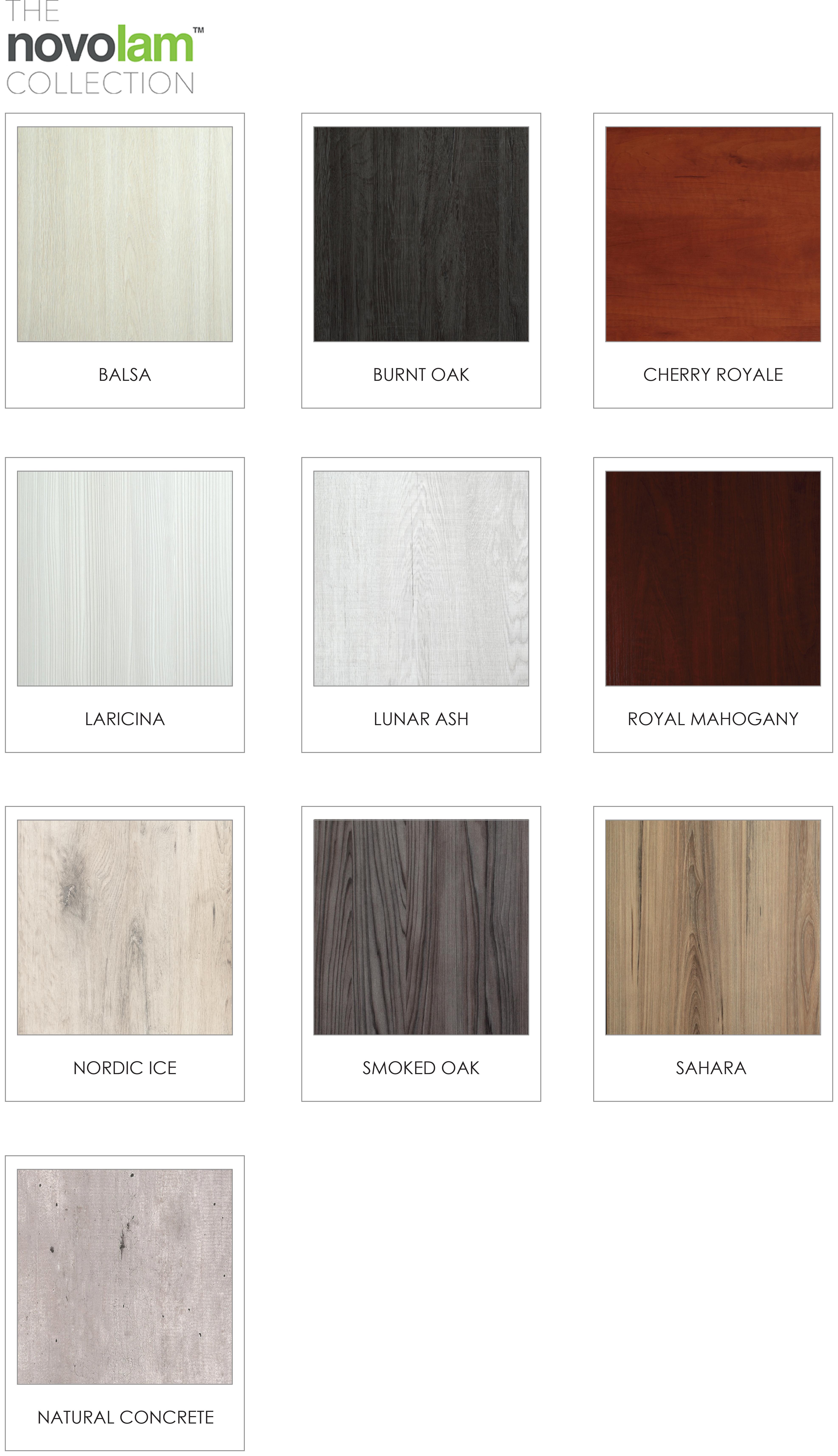 Novolam Lansdowne Boards