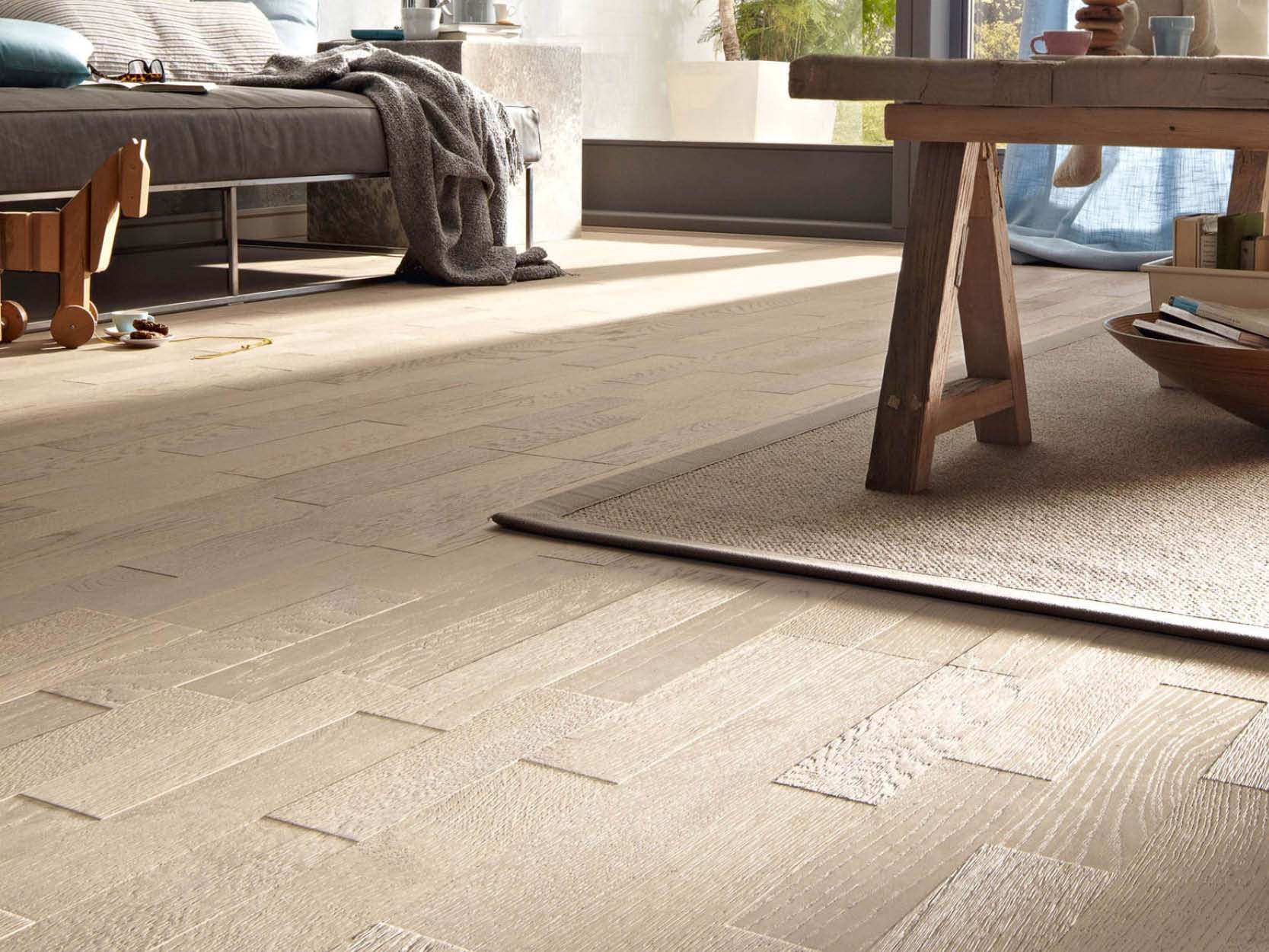 Meister's Engineered Oak 3D Planked Parquet